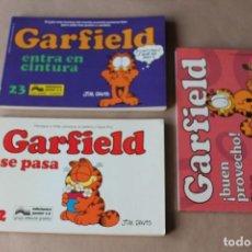 Comics : LOTE RESERVADO 1 DE 3 CRILORE16 ------ GARFIELD 12 23 43. Lote 160901185