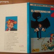 Fumetti: LAS AVENTURAS DE SPIROU Y FANTASIO, Nº 18. GRIJALBO. EL RETORNO DE Z. Lote 271987383