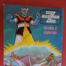 "Fumetti: MAZINGER Z , "" AFRODITA A"" CAPTURADA Nº 3 - JUNIOR / GRIJALBO 1978. Lote 272266853"