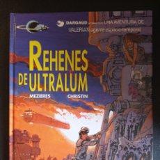 Cómics: VALERIAN 16 REHENES DE ULTRALUM MUY BUEN ESTADO. Lote 272277953
