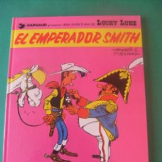 Comics: LAS AVENTURAS DE LUCKY LUKE Nº 1 EL EMPERADOR SMITH GRIJALBO/DARGAUD 1982. Lote 272377008