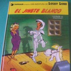Comics: LAS AVENTURAS DE LUCKY LUKE Nº 2 EL JINETE BLANCO GRIJALBO/DARGAUD 1982. Lote 272377183