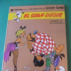 Comics: LAS AVENTURAS DE LUCKY LUKE Nº 3 EL GRAN DUQUE GRIJALBO/DARGAUD 1982. Lote 272377408