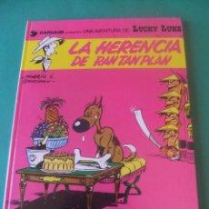Comics: LAS AVENTURAS DE LUCKY LUKE Nº 6 LA HERENCIA DE RAN TAN PLAN GRIJALBO/DARGAUD 1985. Lote 272381398