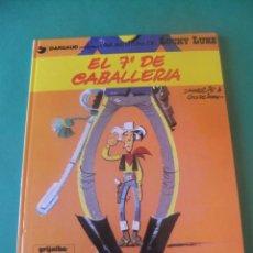 Comics: LAS AVENTURAS DE LUCKY LUKE Nº 7 EL 7º DE CABALLERIA GRIJALBO/DARGAUD 1985. Lote 272383053