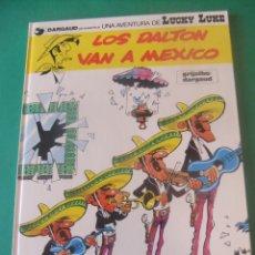 Comics: LAS AVENTURAS DE LUCKY LUKE Nº 8 LOS DALTON VAN A MEXICO GRIJALBO/DARGAUD 1985. Lote 272384123