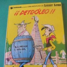Cómics: LAS AVENTURAS DE LUCKY LUKE Nº 37 PETROLEO GRIJALBO/DARGAUD 1988. Lote 272385273