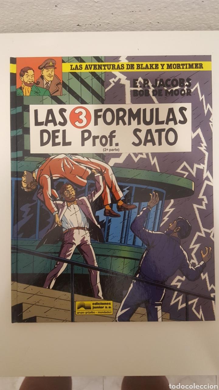 COMIC - BLAKE Y MORTIMER -LAS 3 FORMULAS DEL PROFESOR SATO 2ª PARTE - EDGARD P.JACOBS - GRIJALBO. (Tebeos y Comics - Grijalbo - Blake y Mortimer)