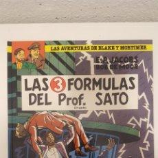 Cómics: COMIC - BLAKE Y MORTIMER -LAS 3 FORMULAS DEL PROFESOR SATO 2ª PARTE - EDGARD P.JACOBS - GRIJALBO.. Lote 272755653