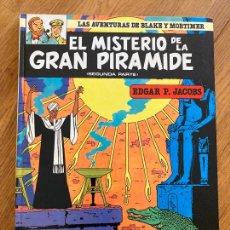 Cómics: LAS AVENTURAS DE BLAKE Y MORTIMER 1 - EL MISTERIO DE LA GRAN PIRAMIDE (2ª PARTE) - GRIJALBO. Lote 273081138