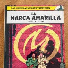 Cómics: LAS AVENTURAS DE BLAKE Y MORTIMER 3 - LA MARCA AMARILLA - GRIJALBO. Lote 273081498