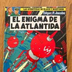 Cómics: LAS AVENTURAS DE BLAKE Y MORTIMER 4 - EL ENIGMA DE LA ATLANTIDA - GRIJALBO. Lote 273081713