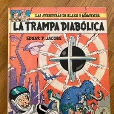 Cómics: LAS AVENTURAS DE BLAKE Y MORTIMER 6 - LA TRAMPA DIABOLICA - GRIJALBO. Lote 273082163