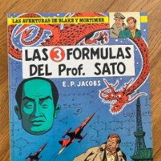 Cómics: LAS AVENTURAS DE BLAKE Y MORTIMER 8 - LAS 3 FORMULAS DEL PROF. SATO - GRIJALBO. Lote 273083013