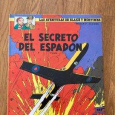 Cómics: LAS AVENTURAS DE BLAKE Y MORTIMER 9 - EL SECRETO DEL ESPADON (1ª PARTE) - GRIJALBO. Lote 273083338