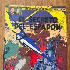 Cómics: LAS AVENTURAS DE BLAKE Y MORTIMER 11 - EL SECRETO DEL ESPADON (3ª PARTE) - GRIJALBO. Lote 273084143