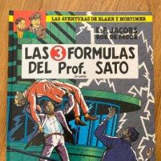 Cómics: LAS AVENTURAS DE BLAKE Y MORTIMER 12 - LAS 3 FORMULAS DEL PROF. SATO (2ª PARTE) - GRIJALBO. Lote 273084688
