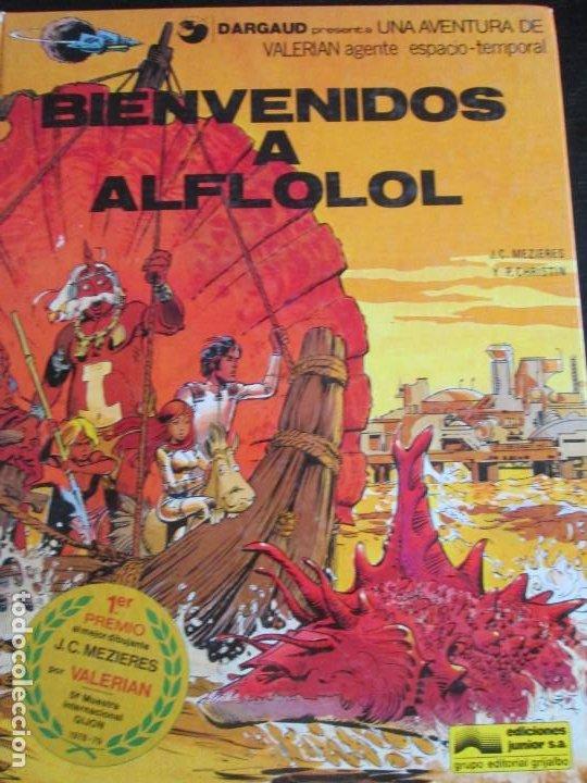 VALERIAN--BIENVENIDOS A ALFLOLOL--CHRISTIN--MEZIERES (Tebeos y Comics - Grijalbo - Valerian)