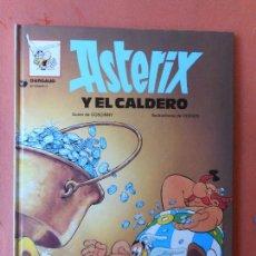 Fumetti: ASTERIX Y EL CALDERO. GUIÓN DE GOSCINNY. EDITORIAL GRIJALBO / DARGAUD.. Lote 273625868