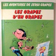Cómics: FRANQUIN, ANDRÉ - LES GRAPES D'EN GRAPES. LES AVENTURES DE SERGI GRAPES - BARCELONA 1983 - MOLT IL·L. Lote 273904148