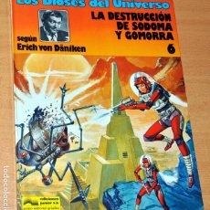 Comics: LOS DIOSES DEL UNIVERSO Nº 6: LA DESTRUCCIÓN DE SODOMA Y GOMORRA - VON DÄNIKEN - ED. JUNIOR 1981. Lote 274419993