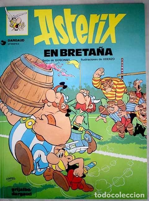 ASTERIX EN BRETAÑA. GRIJALBO / DARGAUD. 1990 (Tebeos y Comics - Grijalbo - Asterix)