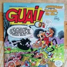 Fumetti: GUAI Nº 144 - REVISTA DE HUMOR - EDICIONES JUNIOR / TEBEOS S.A. -BE-. Lote 274690373