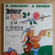 Comics: ASTERIX, LA ROSA Y LA ESPADA - UDERZO / GOSCINNY - JUNIOR/GRIJALBO - 1991. Lote 274695283