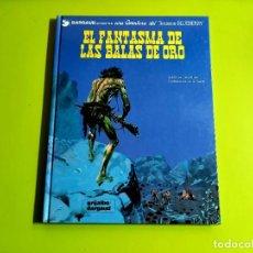 Cómics: TENIENTE BLUEBERRY Nº 2: EL FANTASMA DE LAS BALAS DE ORO 1ª EDICION 1972 -EXCELENTE ESTADO. Lote 274775143