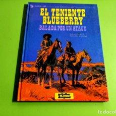 Cómics: TENIENTE BLUEBERRY Nº 9 -1ª EDICION - 1974 -EXCELENTE ESTADO. Lote 274778853