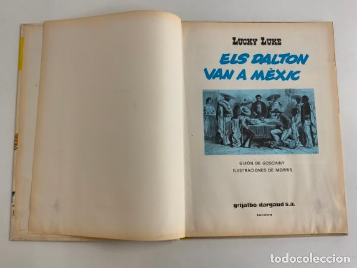 Cómics: Precioso comic de LUCKY LUKE: ELS DALTON VN A MÈXIC - En català. Num 8. Grijalbo Dargaud - Foto 3 - 275063593