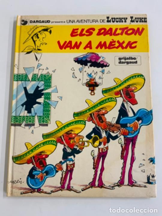 PRECIOSO COMIC DE LUCKY LUKE: ELS DALTON VN A MÈXIC - EN CATALÀ. NUM 8. GRIJALBO DARGAUD (Tebeos y Comics - Grijalbo - Lucky Luke)