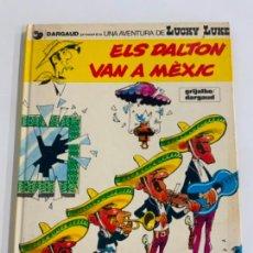 Cómics: PRECIOSO COMIC DE LUCKY LUKE: ELS DALTON VN A MÈXIC - EN CATALÀ. NUM 8. GRIJALBO DARGAUD. Lote 275063593
