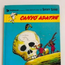 Cómics: PRECIOSO COMIC DE LUCKY LUKE: CANYÓ D'APATXE - EN CATALÀ. NUM 17. GRIJALBO DARGAUD. Lote 275063933