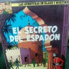 Comics: BLAKE Y MORTIMER. EL SECRETO DEL ESPADON. GRIJALBO. 1987. Lote 275102143