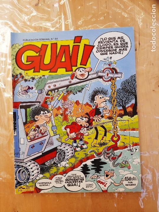 GUAI N-64 GRUPO EDITORIAL GRIJALBO (Tebeos y Comics - Grijalbo - Otros)