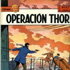 Fumetti: LEFRANC Nº 6 - OPERACION THOR - EDICIONES JUNIOR 1987 1ª EDICION - BIEN. Lote 275699678