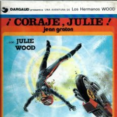 Fumetti: JEAN GRATON - LOS HERMANOS WOOD Nº 4 - ¡ CORAJE, JULIE ! - EDICIONES JUNIOR 1979 1ª EDICION. Lote 275700163