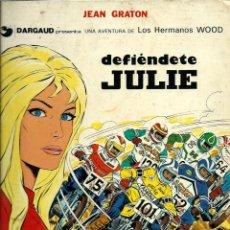 Fumetti: JEAN GRATON - LOS HERMANOS WOOD Nº 2 - DEFIENDETE JULIE - EDICIONES JUNIOR 1977 1ª EDICION. Lote 275700393