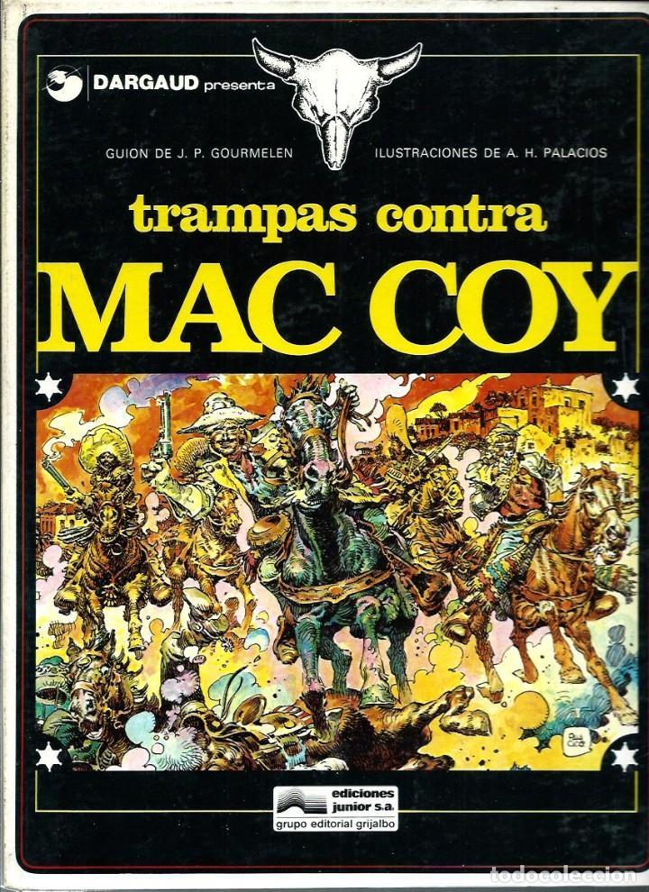 HERNANDEZ PALACIOS - MAC COY Nº 3 - TRAMPAS CONTRA MAC COY - ED. JUNIOR 1979 - 1ª EDICION - BIEN (Tebeos y Comics - Grijalbo - Mac Coy)