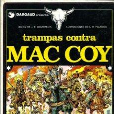 Cómics: HERNANDEZ PALACIOS - MAC COY Nº 3 - TRAMPAS CONTRA MAC COY - ED. JUNIOR 1979 - 1ª EDICION - BIEN. Lote 275702113