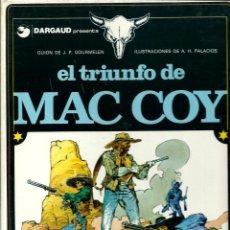 Cómics: HERNANDEZ PALACIOS - MAC COY Nº 4 - EL TRIUNFO DE MAC COY - ED. JUNIOR 1979 - 1ª EDICION - BIEN. Lote 275702418