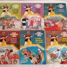 Fumetti: CÓMIC MAZINGER Z COL. COMPLETA 1-6 ED. JUNIOR / GRIJALBO 1978. Lote 275780283