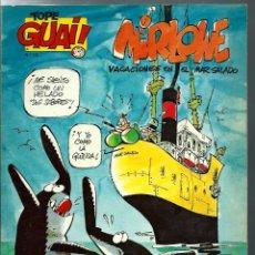Fumetti: RAF - MIRLOWE, VACACIONES EN EL MAR SALADO - TOPE GUAI Nº 14 - EDICIONES JUNIOR 1987 - UNICO EN TC. Lote 275792588