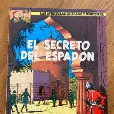 Cómics: LAS AVENTURAS DE BLAKE Y MORTIMER 10 - EL SECRETO DEL ESPADON (2ª PARTE) - GRIJALBO - DIFICIL. Lote 275849848