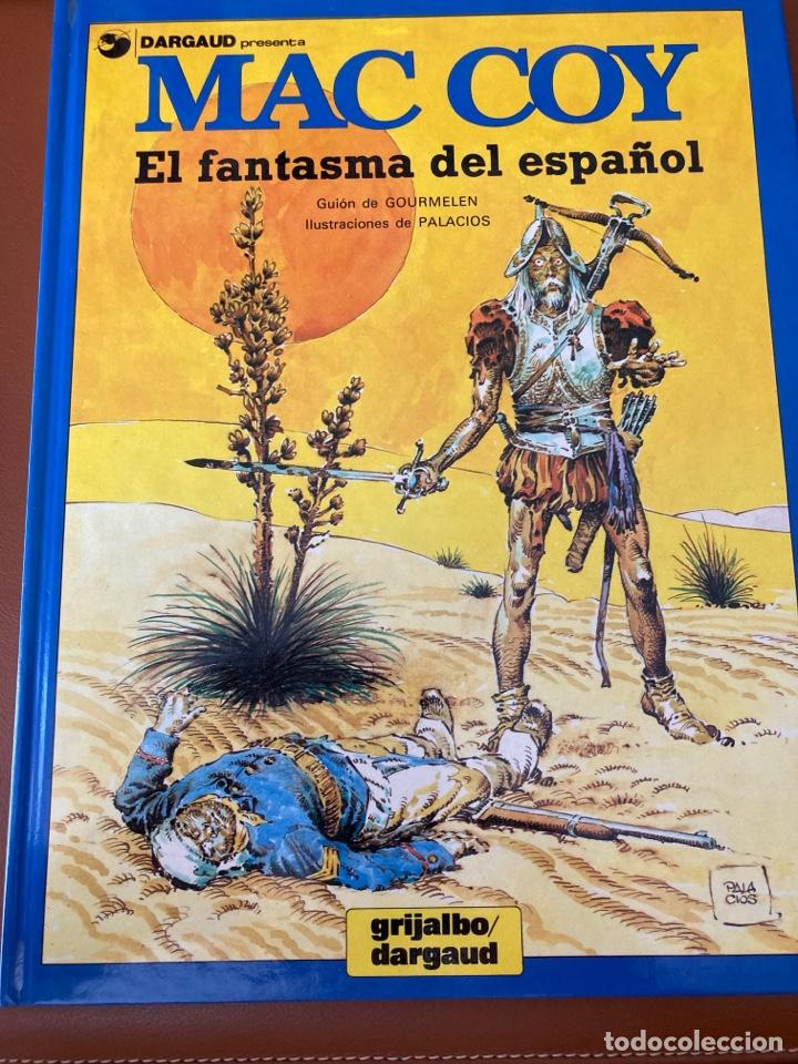 MAC COY. EL FANTASMA DEL ESPAÑOL. (Tebeos y Comics - Grijalbo - Mac Coy)