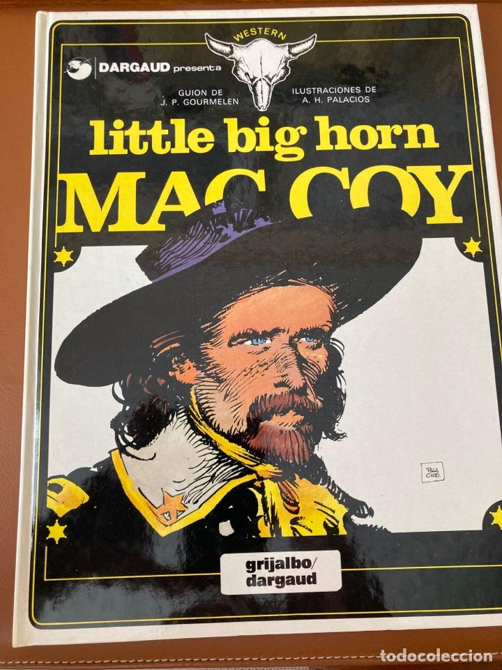 LITTLE BIG HORN (Tebeos y Comics - Grijalbo - Mac Coy)