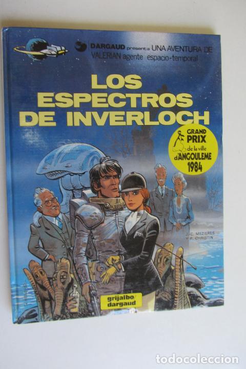 VALERIAN AGENTE ESPACIO-TEMPORAL Nº 11 : LOS ESPECTROS DE INVERLOCH; GRIJALBO/DARGAUD AS01 (Tebeos y Comics - Grijalbo - Valerian)