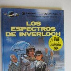 Cómics: VALERIAN AGENTE ESPACIO-TEMPORAL Nº 11 : LOS ESPECTROS DE INVERLOCH; GRIJALBO/DARGAUD AS01. Lote 276195488