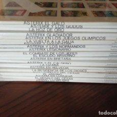 Comics: ASTERIX COLECCIÓN 23 TOMOS+LAS DOCE PRUEBAS DE ASTERIX. GRIJALBO DAGUARD TAPA BLANDA.. Lote 276390913